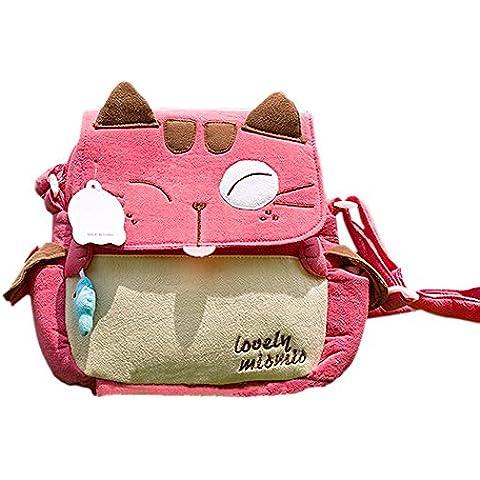 [Amor Mio Mio] Bolso de hombro / gatito (8.3 * 7.5 * 2.4)