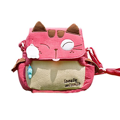[Amour Mio Mio] Kitty Sac à bandoulière (8.3 * 7.5 * 2,4)
