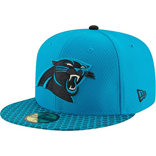 New Era 59Fifty Cap - NFL SIDELINE 2017 Carolina Panthers , Gr.7 1/4 - 58cm (L)