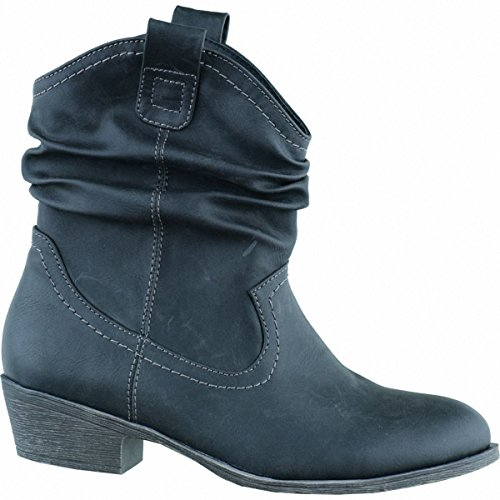 Jane Klain, Mujeres Boots Negro (negro)