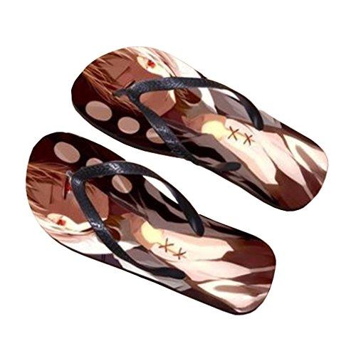 Bromeo Kagerou Project Anime Unisex Flip Flops Zehentrenner Flip Pantoffeln 400