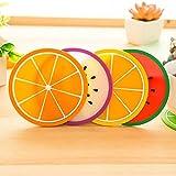Generic C : Fruit Coaster Colorful Silic...