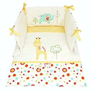 Lollipop Lane Tiddly Wink Safari Crib Quilt and Bumper Set (B002AOJV8G) | Amazon price tracker / tracking, Amazon price history charts, Amazon price watches, Amazon price drop alerts
