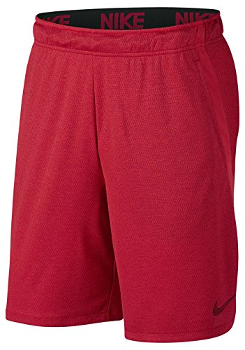 Nike Herren Dry 4.0 Short, Gym Red/Heather/(Black), M - Rote Trainings-shorts