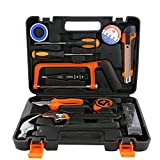 Home Hardware Tool Kit Multifunktions-Reparatursatz Für Zuhause Manuelle Toolbox Geschenkbox 12-Teiliges Set