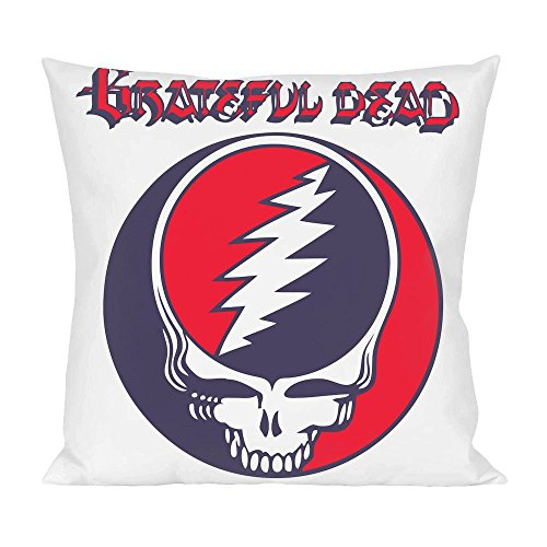 Grateful Dead Phish (Grateful Dead Logo Pillow)