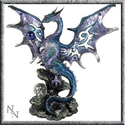 Blue Dragon Figurine 20 cm