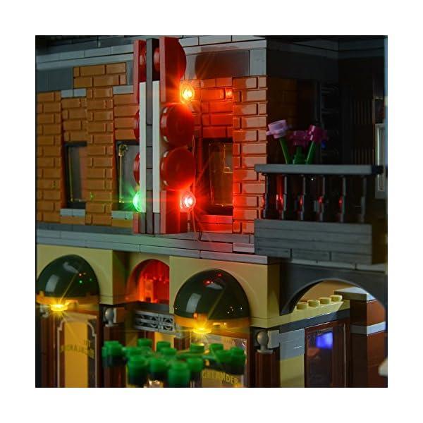 LIGHTAILING Set di Luci per (Creator Expert Ufficio Dell'Investigatore) Modello da Costruire - Kit Luce LED Compatibile… 5 spesavip