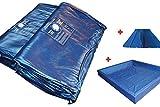 my-waterbed Wasserbettmatratzen Wassbett Matratze Wasserkern für Dual System (100% = 0-1,5sek, 180 x 200 cm)