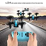 OCDAY Drone for Kids, Mini Battle Drone 2.4G 4CH 6-Axis RC Quadcopter with Headless Mode, Altitude Hold, 3D Flips and LED Lights, Perfect for Playing with Friend or Family