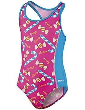 Beco–Bañador para niña Ropa, niña, BECO Schwimmanzug Mädchen, rosa, 98