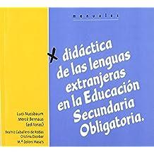 Didáctica de las lenguas extranjeras en la ESO (Didáctica de la lengua y la literatura)