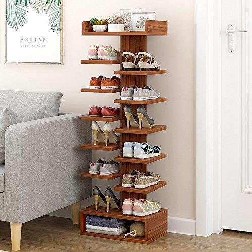 KF Schuhregal Simple Home Multifunktion Sparsam Platzsparend Schuhschachtel Mehrschichtig Schuhregal...