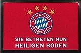 FC Bayern München Fußmatte Heiliger Boden