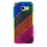 Galaxy A5 2017 Case, Samsung Galaxy A5 2017 Case, Edaroo [Rainbow Liquid Glitter] [Colorful Quicksand] Cute Creative... preisvergleich bei billige-tabletten.eu