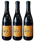 Vin rouge - LE 49.3 Domaine Chateau Grand Moulin - VIN DE FRANCE 2017 - coffret de 3...