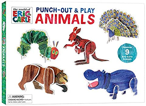 The World of Eric Carle Punch-out & Play Animals