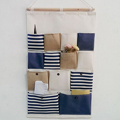 highdas-rayures-bleues-vintage-gadgets-titulaire-wall-hanging-sac-draps-coton-fabric-13-poches-porte