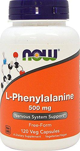 Now - L-Fenilalanina 500mg 120 caps
