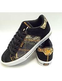 Vox Skateboard Shoes lockdown Cement / Black / Blue, número de zapato:42.5