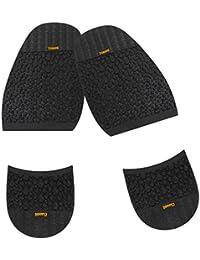 La suela de goma Footful ovinos en la media 2,5 mm + persiguiéndole 8,0 mm anti-slip para grandes de reparación