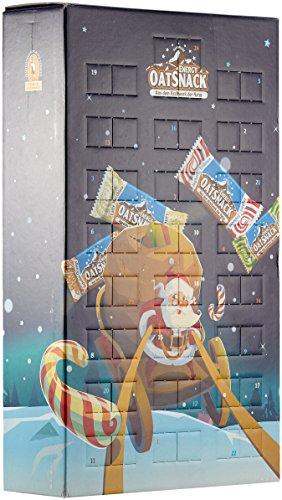 Energy Oatsnack Adventskalender, Weihnachts Mix Box - natürliche Riegel - aus dem Kraftwerk der Natur, 1er Pack(1 x 1625 g)