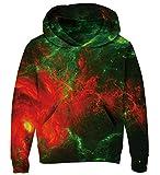 Goodstoworld 3D Hoodie Teenager Mädchen Jungen Pullover Coole Galaxy Druck Lange Ärmel Kapuzenpullover Kapuzensweatshirt