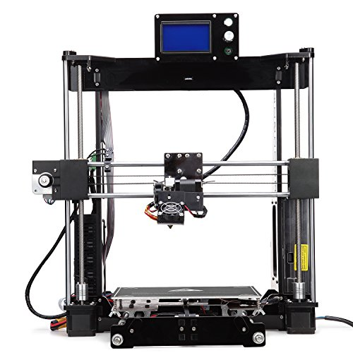 Price comparison product image 3D Printer Kit Prusa i3, Raiscube 3D Printer Desktop DIY Toys Models, Half Assembly 3D Machine Equipped with High Precision Extruder