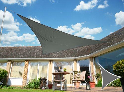 Kookaburra 4.2m x 4.2m x 6.0m Triangle à angle droit Charbon Imperméable Voiles d'Ombrage (Imperméable)