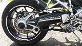 Carbon Klebesatz Kardantunnel für BMW R1200 GS Motorrad Aufkleber - Bj. 2004 bis 2012