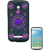 Coque Housse gel protection pour Alcatel POP S9 SFR StarXtrem ll, motif elephant