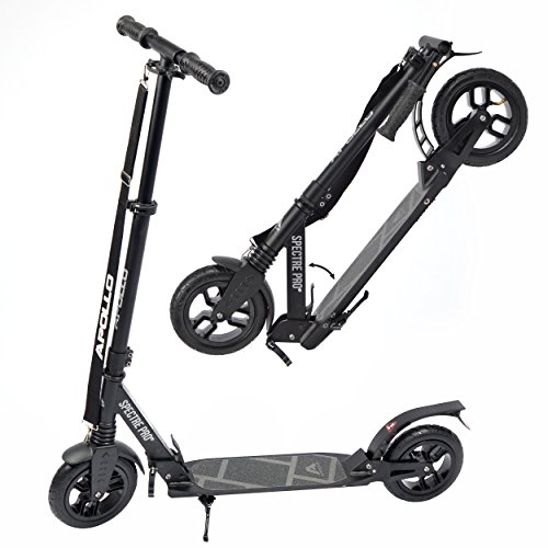 Apollo 200mm Air-Wheel Scooter - Spectre Air Pro Luxus City Scooter mit Doppel Federung und Luftreifen, City-Roller mit Airwheels, Kickscooter für Erwachsene und Kinder