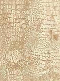 StoffConcept MÖBELSTOFF Diva Croco 32 Objektstoff Microfaser Samt Krokodil Reptilienlook Bezug Muster