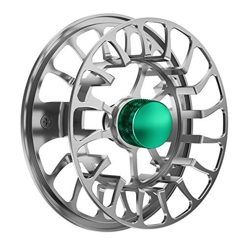 Magreel Fliegenrolle und Ersatzspule Angelrolle mit CNC-gefrästen Aluminium-Karosserien 3/4, 5/6, 7/9 Gewichten - Gunmetal