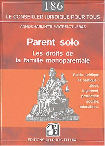 Parent solo : Les droits de la famille monoparentale