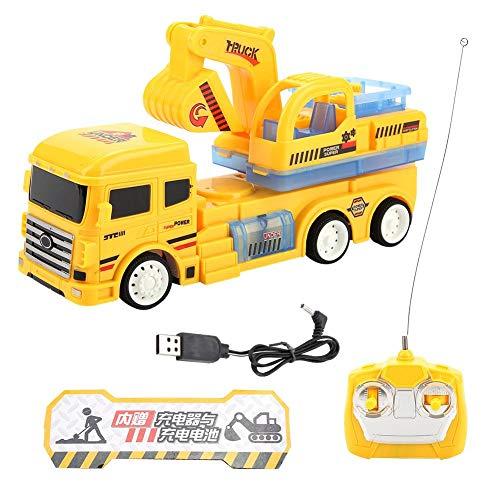ug, RC Engineering Truck Toy Vorschul Spiel mit Licht & Musik für Kinder Toldders ()