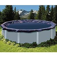 Swimline S12RD 12 'Deluxe piscina rotonda di copertura invernale