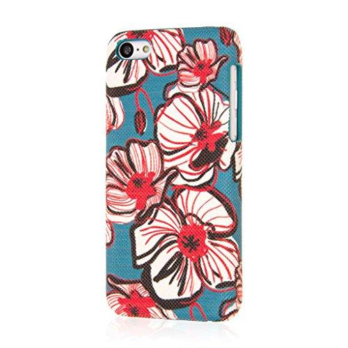 EMPIRE Signature Serie Schutzhülle für Apple iPhone 5C (Slim _ P Bold Teal Floral