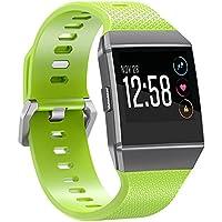 Armband Fur Fitbit Ionic,SnowCinda Verstellbares Ersatzarmband Unisex Silikon Uhrenarmband Fitness Zubehorteil mit Metallschliese Fur Fitbit Ionic Fur Fitbit Ionic