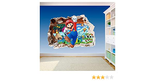 DIY & Tools Super Mario Brothers Hole in Wall 3-3D Printed Vinyl