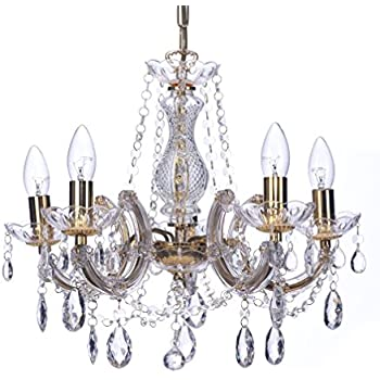 Marco tielle marie therese style chandelier with crystal glass marco tielle marie therese style chandelier with crystal glass column body acrylic arms beads aloadofball Gallery