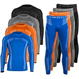 Men's NORDE Functional Thermal Underwear Breathable Active Base Layer SET