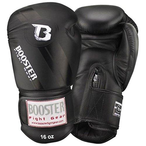 BOOSTER Boxhandschuhe PRO V3 Leder, schwarz, 12 OZ
