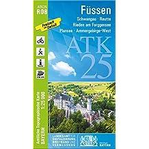 Topographische Karte Bayern.Suchergebnis Auf Amazon De Für Topographische Karten Bayern