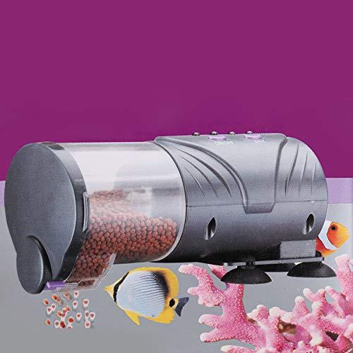 ksjdjok Goldfish elektronische intelligente automatische Zufuhr-Aquarium-Aquarium-Zeitsteuerung Nahrungsaufnahme-automatische Fütterung von Fischen -