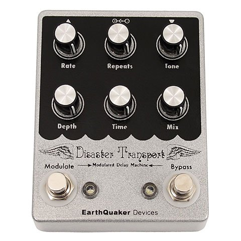 EarthQuaker Devices Disaster Transport · Pedal guitarra eléctrica