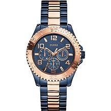 Guess W0231L6 - Reloj de pulsera para mujer, color blanco / plata