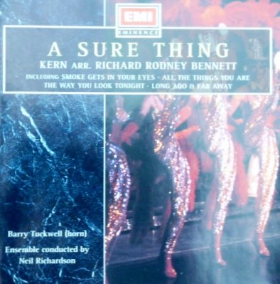 a-sure-thing-jerome-kern-arr-richard-rodney-bennett