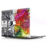 AQYLQ Funda Dura para MacBook Air 13 Pulgadas (A1369 / A1466), Ultra Delgado Carcasa Rígida Protector de Plástico Cubierta, Cerebro Izquierdo y Derecho - Cerebro Tecnico