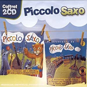 Coffret 2 CD : Les Aventures de Piccolo Saxo vol.1 / vol.2